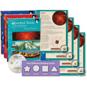 Shell 50587 Leveled Texts for Science: 3-Book Set SHL50587
