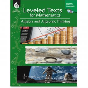 Shell 50716 Leveled Texts for Mathematics: Algebra and Algebraic Thinking SHL50716