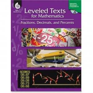 Shell 50785 Leveled Texts for Mathematics: Fractions, Decimals, and Percents SHL50785