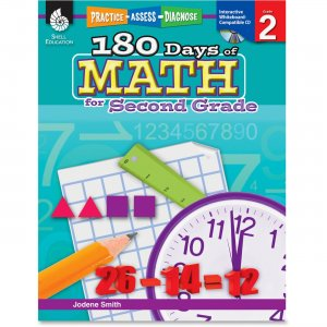 Shell 50805 Practice, Assess, Diagnose: 180 Days of Math for Sixth Grade SHL50805