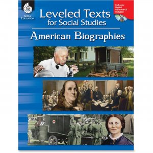 Shell 50894 Leveled Texts for Social Studies: American Biographies SHL50894