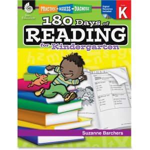 Shell 50921 Practice, Assess, Diagnose: 180 Days of Reading for Kindergarten SHL50921