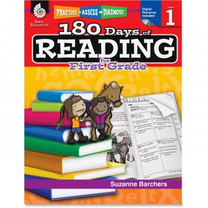 Shell 50922 Practice, Assess, Diagnose: 180 Days of Reading for First Grade SHL50922