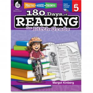 Shell 50926 Practice, Assess, Diagnose: 180 Days of Reading for Fifth Grade SHL50926