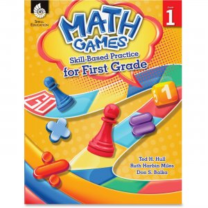 Shell 51288 Math Games: Skill-Based Practice for First Grade SHL51288