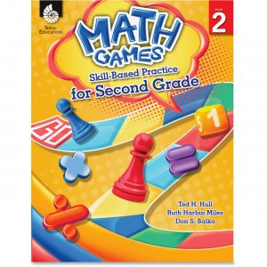 Shell 51289 Math Games: Skill-Based Practice for Second Grade SHL51289