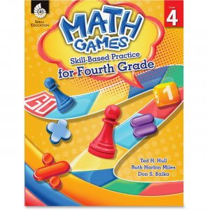 Shell 51291 Math Games: Skill-Based Practice for Fourth Grade SHL51291