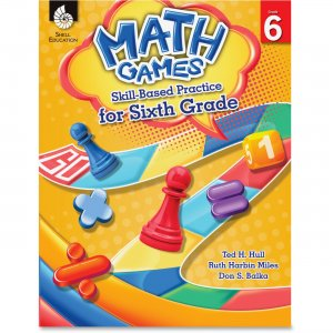 Shell 51293 Math Games: Skill-Based Practice for Sixth Grade SHL51293
