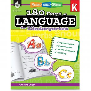 Shell 51172 Practice, Assess, Diagnose: 180 Days of Language for Kindergarten SHL51172