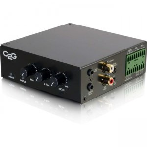 C2G 40881 25/70V 50W Audio Amplifier - Plenum Rated