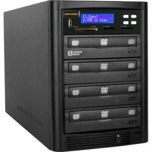 Aleratec 310109 DVD/CD Flash Copy Tower