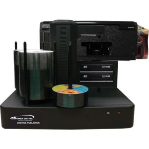 Vinpower Digital CRONUS-802S Cronus DVD/CD Publisher with CISS Solvent Ink Printer - 2 Drives
