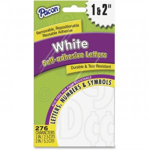 Pacon 51664 Reusable Self-Adhesive Letters PAC51664