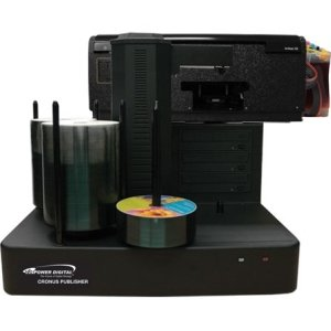 Vinpower Digital CRONUS-803S Cronus DVD/CD Publisher with CISS Solvent Ink Printer - 3 drives