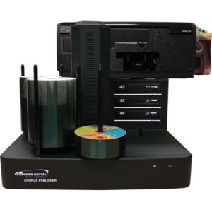 Vinpower Digital CRONUS-803S-BD Cronus BD/DVD/CD Publisher with CISS Solvent Ink Printer - 3 drives