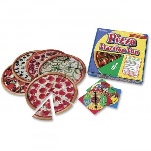 Learning Resources 5060 Pizza Fraction Fun