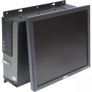 Rack Solutions 104-2324 Dell Optiplex 790 SFF Wall Mount - Tilt Monitor