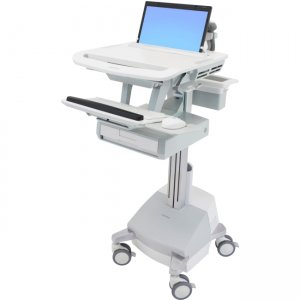 Ergotron SV44-1111-1 StyleView Laptop Cart, SLA Powered, 1 Drawer