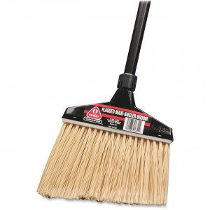 Diversey 91351 O-Cedar MaxiPlus Professional Angle Broom with Flagged Bristles DVO91351