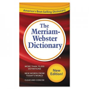 Merriam Webster 2956 The Merriam-Webster Dictionary, 11th Edition, Paperback, 960 Pages MER2956