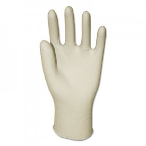 GEN GEN8970LCT Latex General-Purpose Gloves, Powdered, Large, Clear, 4 2/5 mil, 1000/Carton