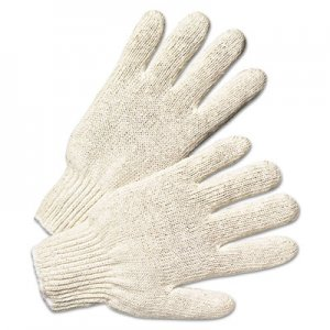 Anchor Brand ANR6700 String Knit Gloves, Large, Natural White, 12 Pairs