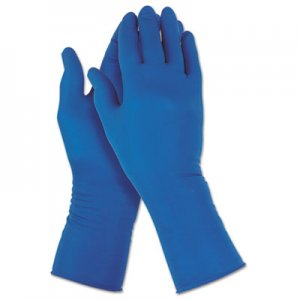 Jackson Safety KCC49824 G29 Solvent Resistant Gloves, 295 mm Length, Medium/Size 8, Blue, 500/Carton