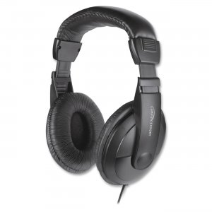Compucessory 15155 Cushion Stereo Headphones w/Vol Cntrl