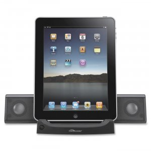 Compucessory 51546 Universal Tablet Sound Systems, 4-Watt, Black