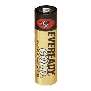Eveready A91BP-8 AA Size Gold Alkaline General Purpose Battery