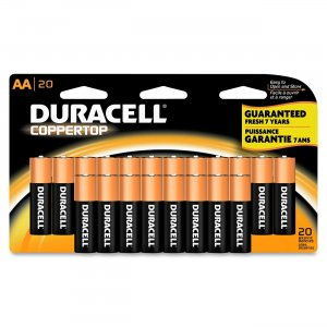 Duracell MN1500B20 CopperTop General Purpose Battery
