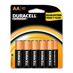 Duracell MN1500B10Z CopperTop General Purpose Battery