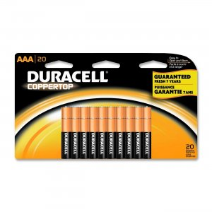 Duracell MN2400B20 CopperTop General Purpose Battery