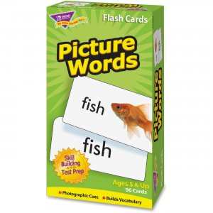 TREND T53004 Picture Words Flash Cards