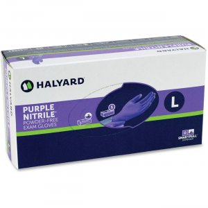 Kimberly-Clark 55080 Purple Nitrile Exam Gloves KC500