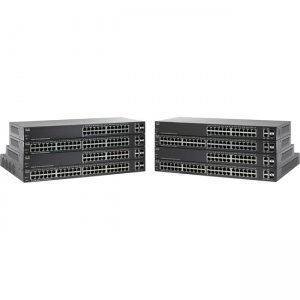 Cisco SF220-48P-K9-NA 48-Port 10/100 PoE Smart Plus Switch SF220-48P