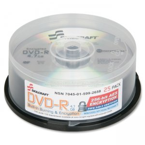 SKILCRAFT 5992658 DVD Recordable Media NSN5992658