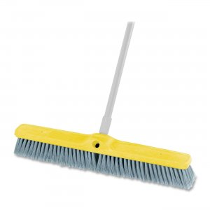 Rubbermaid 9B0200 GRAY Fine Floor Sweep Broom RCP9B0200GY