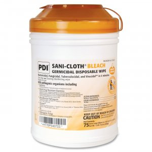 Sani-Cloth PSBW077072 Bleach Wipe NICPSBW077072