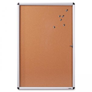 Lorell 42707 Enclosed Cork Bulletin Board LLR42707