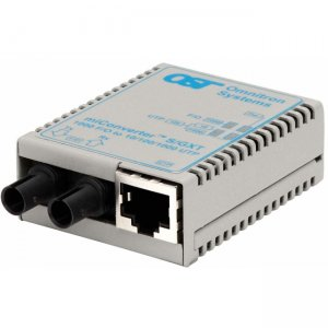 Omnitron Systems 1621-1-6 miConverter S/GXT ST Single-Mode 12km USB Powered 1621-1-x