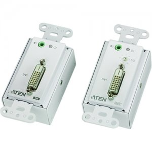 Aten VE606 DVI Over Cat 5 Extender Wall Plate