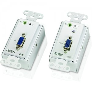 Aten VE156 VGA Over Cat 5 Extender Wall Plate