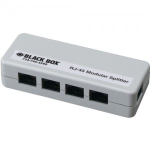Black Box FM800-R2 RJ-45 Modular Splitter, 5-Position, 8 x 8, Unshielded, A Pinning