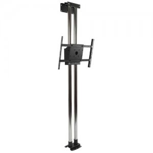 Peerless MOD-FW2KIT300-B Modular Dual Pole Floor to Wall Mount Kit