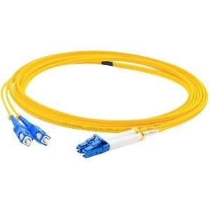 AddOn ADD-USC-LC-1M9SMF Fiber Optic Duplex Patch Network Cable