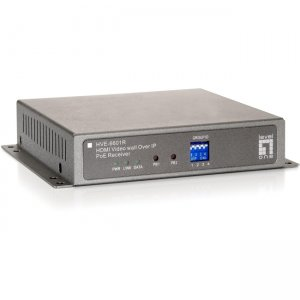 LevelOne HVE-6601R HDMI Video Wall Over IP PoE Receiver