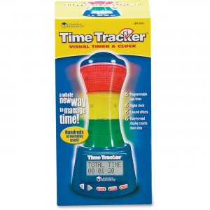 Learning Resources LER6900 Time Tracker Visual Timer & Clock