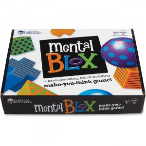 Learning Resources LER9280 Mental Blox Critical Thinking Activity Set, 20pkg