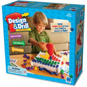 Educational Insights 4112 Design & Drill Activity Center Construction Set